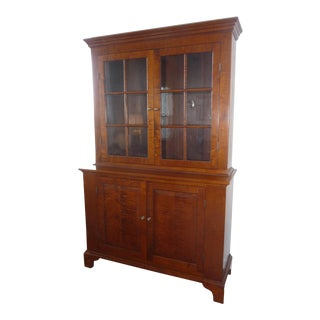 Eldred Wheeler Step Back Cupboard