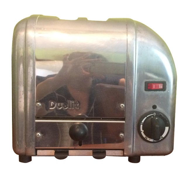Iconic Dualit Chrome 2-Slice Toaster - Image 1 of 3