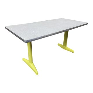 Vintage Industrial American Seating Co. Dining Table