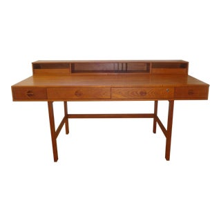 Dansk Lovig Flip-Top Teak Partners Desk or Table