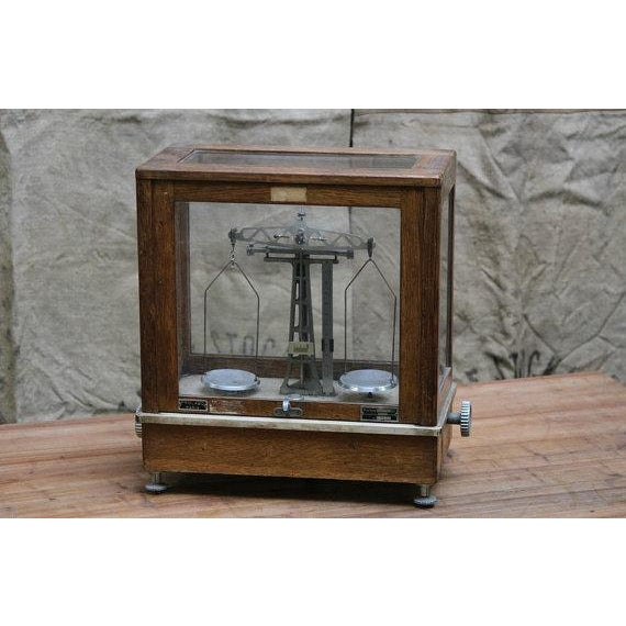 Vintage Chemists Scale - Image 2 of 6