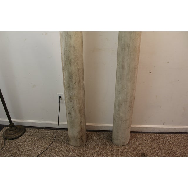 1930s Salvaged Architectural Columns - A Pair - Image 7 of 11