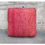 Image of Pink & Orange Moroccan Floor Pillow