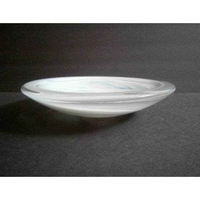 Kosta Boda Atoll Glass Centerpiece Bowl - Image 3 of 5