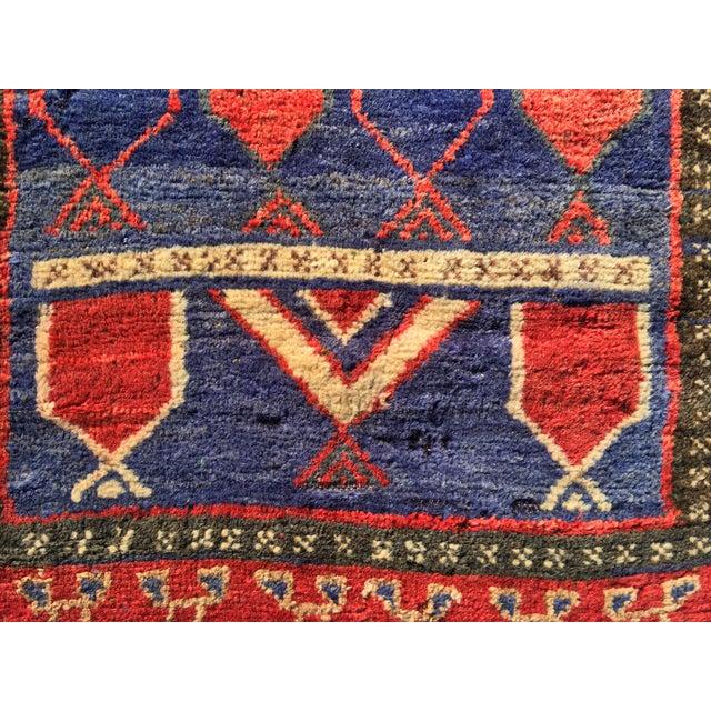 "Vintage Persian Mehebad Small Area Rug - 2'7""x4'3"" - Image 4 of 9"