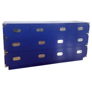 Dixie Campaigner 7-Drawer Dresser