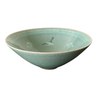 Vintage Korean Celadon Bowl