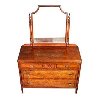 Stiehl Furniture Art Deco Vanity Dresser