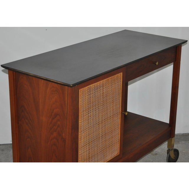 Mid-Century Modern Paul McCobb Bar Cart - Image 4 of 5