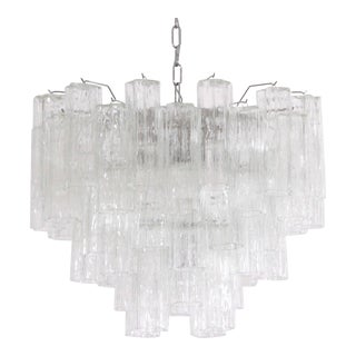 Huge Murano Glass Tronchi Chandelier