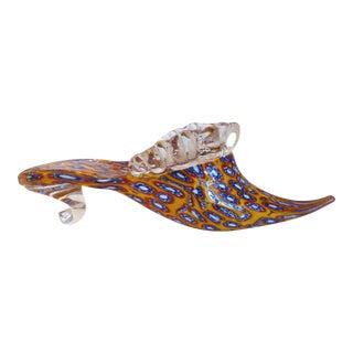 Vintage Murano Millefiori Slipper