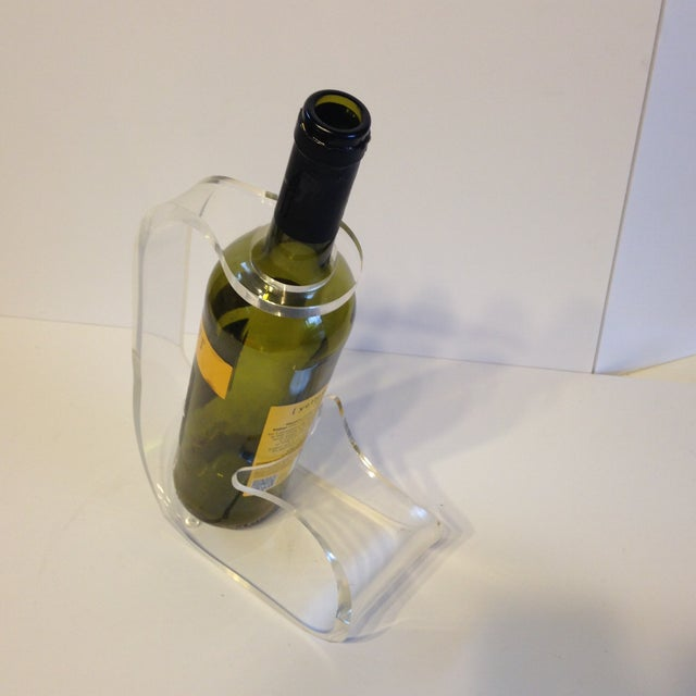 Image of Lucite Wine Caddy