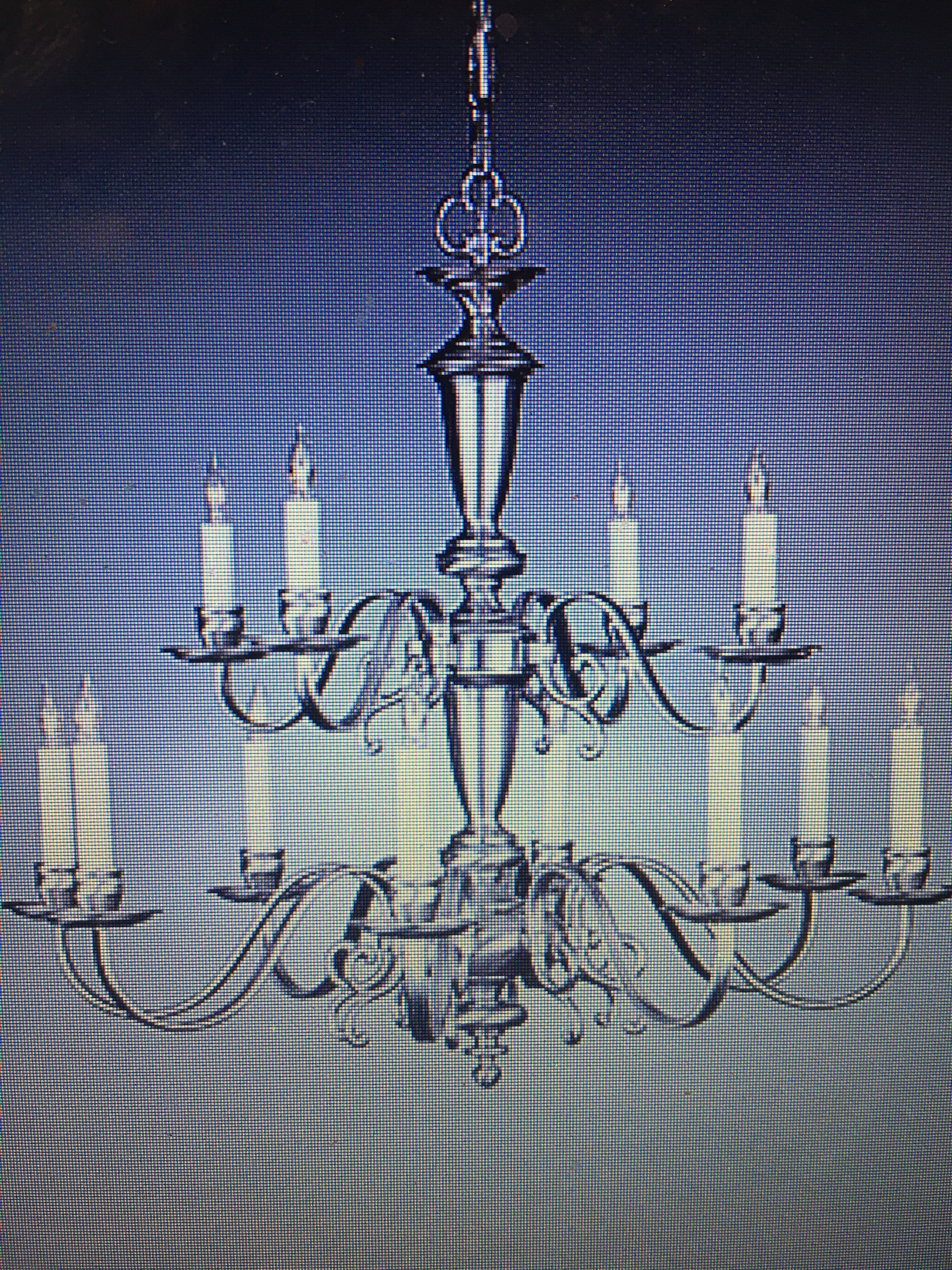 Holtkoetter Flat Arm 12 Light Chandelier Chairish
