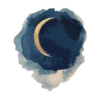 Moon Series- Waning Crescent Print