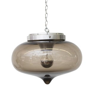 Raak Blown Glass Drop Flush Mount Ceiling Lamp