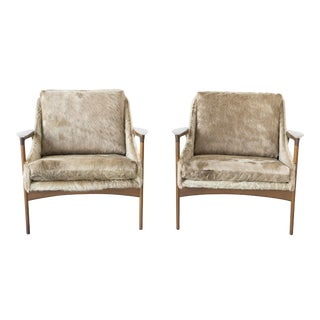 Set of Ib Kofod-Larsen for Selig Lounge Chairs