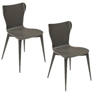 Sarried Ltd Contemporary Varentone Side Chairs - A Pair