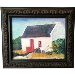 Irish Cottage Oil Painting