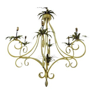 Vintage Palm Beach 6-Arm Chandelier