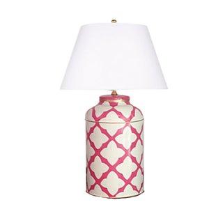 Dana Gibson Moda in Pink Tea Caddy Lamp