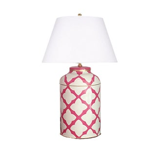 Moda in Pink Tea Caddy Lamp