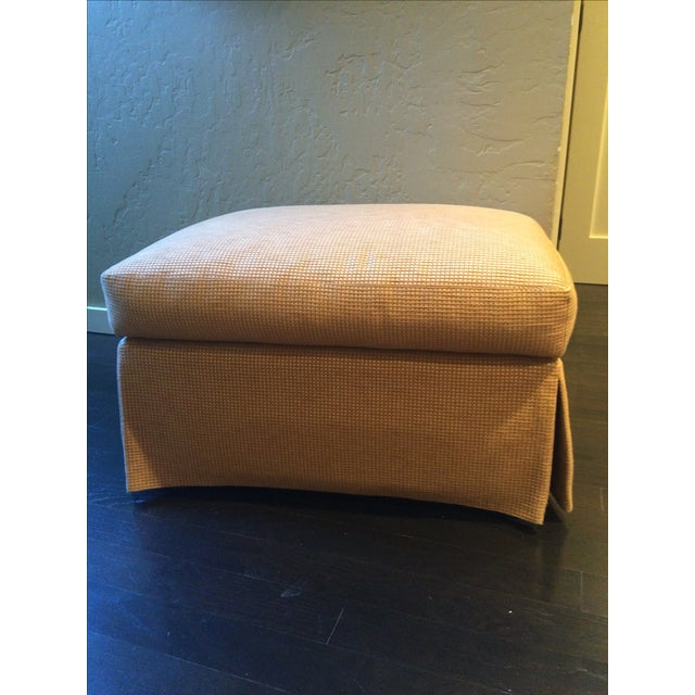 Barbara Barry Baker Lounge Chair & Ottoman - Image 7 of 8