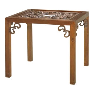 Carved Side Table from China