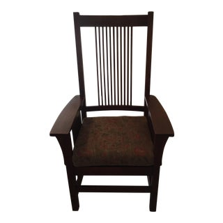 Stickley Mission Style Arm Chair