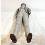 Image of Early 20thc Hand Carved & Painted I.W.Harper Whiskey Man