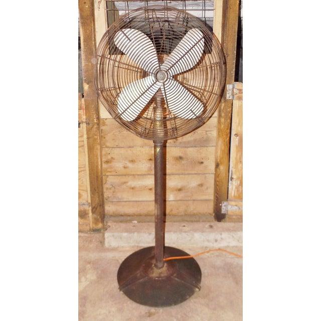 """Big Old Hunter Industrial Pedistal Fan 5' 8"""" Tall - Image 2 of 8"""
