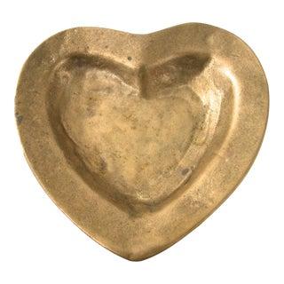 Brass Heart Dish