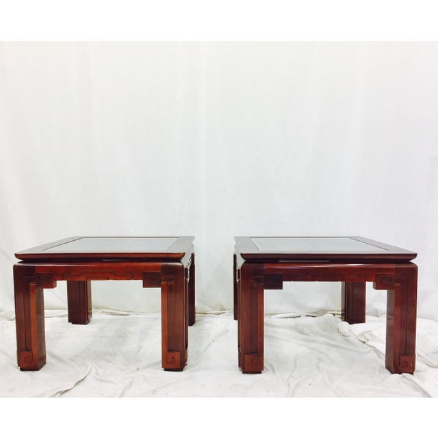 Vintage Asian Ming Style Side Tables - A Pair - Image 3 of 10