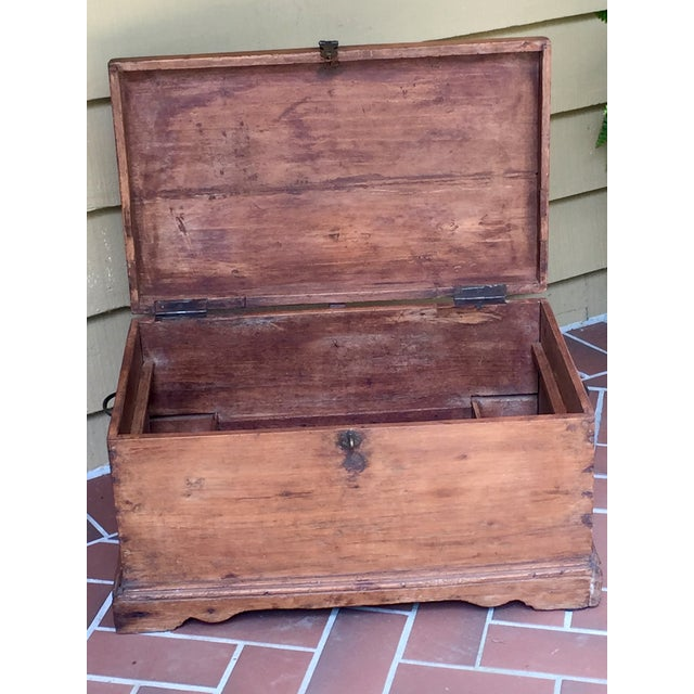 Antique French Trunk - Image 8 of 11