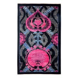 Suzani Hand Knotted Area Rug - 3' X 5'
