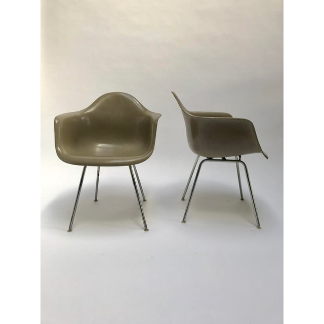 Vintage Eames Armchairs for Herman Miller - a Pair - Image 2 of 11