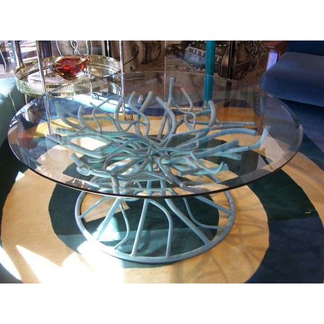 Image of Iron Coral Branch Cocktail Table