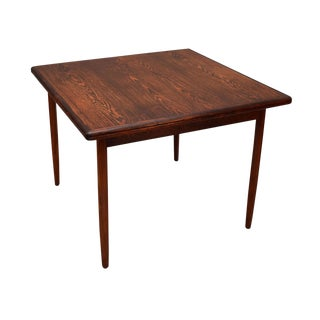 Kurt Østervig Expanding Dining Table in Brazilian Rosewood