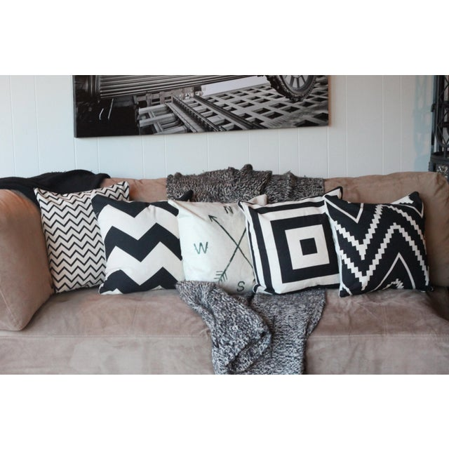 Image of Compass Pillow Cover