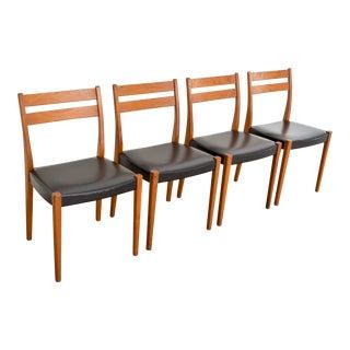 Svegards Markaryd Mid-Century Teak Dining Chairs - Set of 4