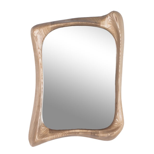 Narcissus Sculptural Art Mirror Frame by Amorph - Image 2 of 4
