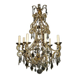 Antique Chandelier. Venetian Chandelier