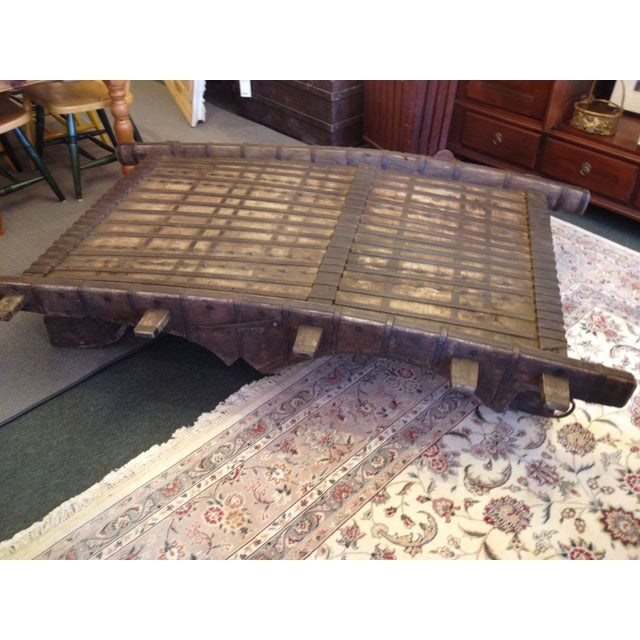 Indonesian Elephant Saddle Coffee Table Chairish