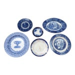Traditional Blue & White Plates - Set of 6