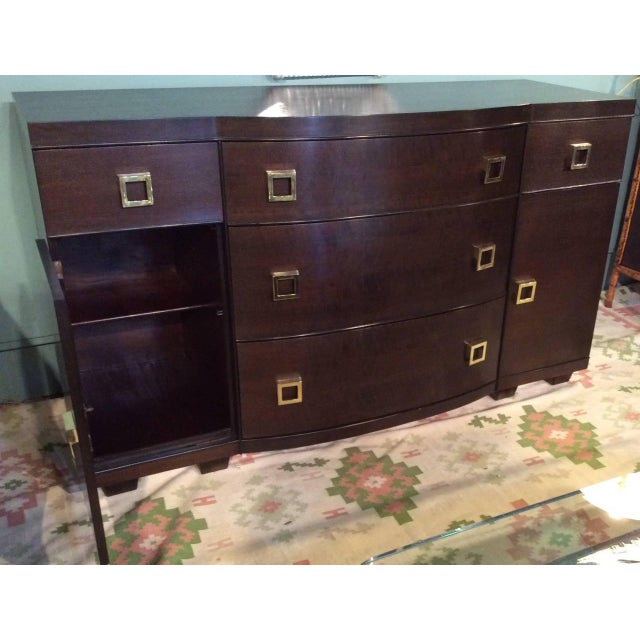 Mid-Century Bow Fronted Chest of Drawers - Image 6 of 10