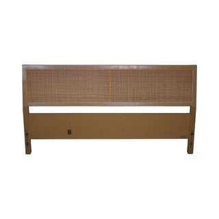 Sligh Cross Country Collection Mid-Century Modern Full Size Cane Headboard