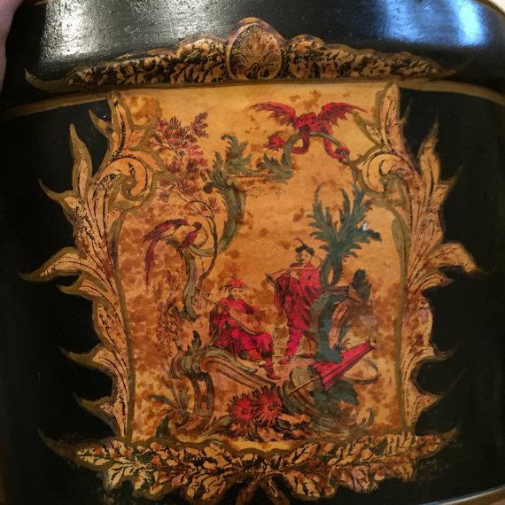 Cast Iron Decorative Bucket - Image 4 of 6