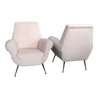 Radice Elegant Armchairs - A Pair