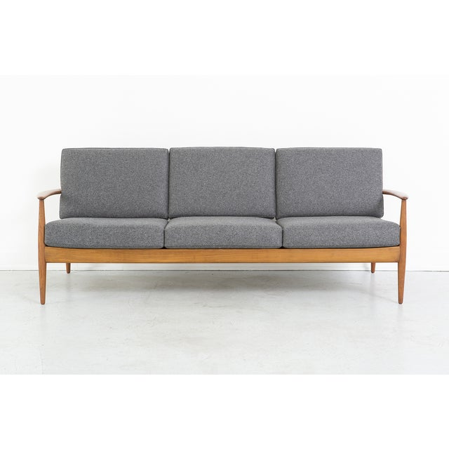 Grete Jalk for France + Daverkosen Teak Wood Sofa - Image 2 of 10