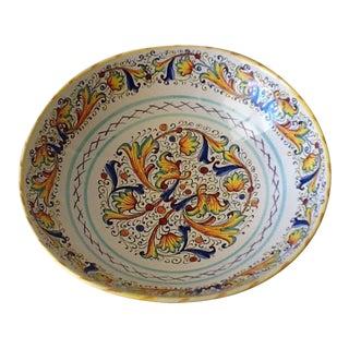 Italian Ceramic Serving Bowl