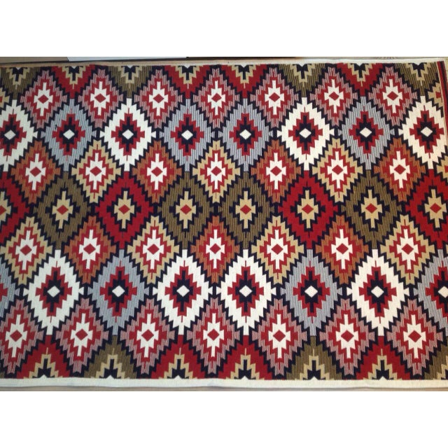 Reversible Kilim Inspired Rug - 3′11″ × 5′11″ - Image 4 of 11